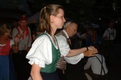 2003.08.01 - Busfahrt zum Begegnungsabend mit Schweden und Franzosen in Güssing