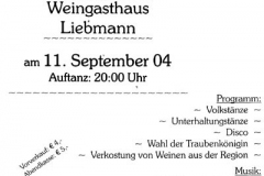 2004.09.11 - Weinlesefest mit Volkstanz in St. Peter am Ottersbach